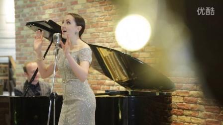 外国美女唱中文歌夜来香