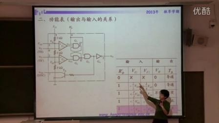 清华大学数字电路基础课程视频47-王红老师50讲全-555 定时器的工作原理和应用2