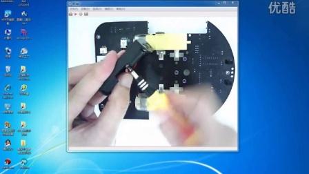 2、智能小车底盘安装之电池盒固定