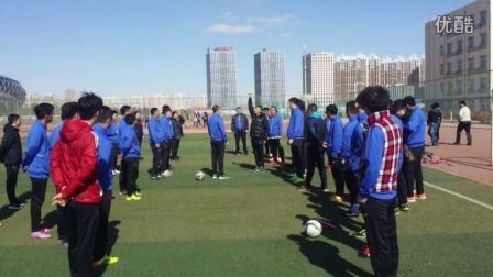 内蒙古自治区国家二级足球裁判员培训班(赤峰学院)留念