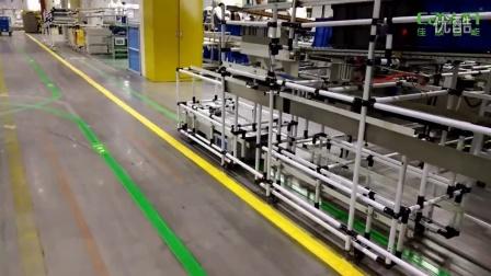 佳顺智能AGV在汽车座椅生产车间应用案例视频