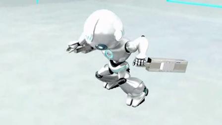 威洛博机器人动画