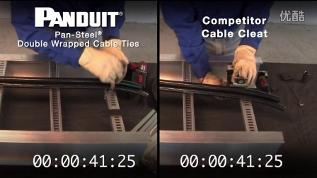 Panduit Self Locking Stainless Ties vs  Competitor Cable Cleat [720p]