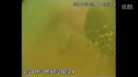 山东未来机器人-水下打捞机器人配合郑州市红十字水上义务救援队新郑青岗庙水库救援视频