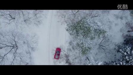 暴爽大片 驾法拉利F40雪山狂飙漂移