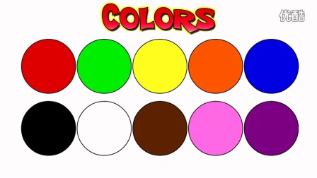 'Color Songs Collection Vol. 1' - Learn Colors, Teach Colours, Baby Toddler Pres