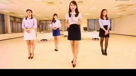 台湾性感美女主播教你跳骑马舞《江南style》16