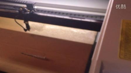 科泰沃尔德斯6090激光雕刻机1390激光切割机100w木刻画木板雕刻图案上门培训