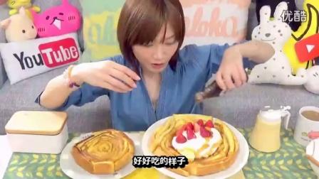[K分享] 吃货木下:简单又好吃哦!土司边做成的法国土司 (中文字幕)_标清