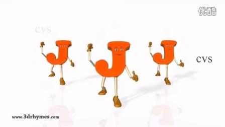 ABC歌曲和童谣——3d动画学习ABC字母歌