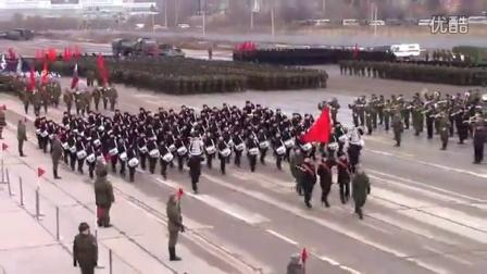2016年3月30日俄罗斯胜利日阅兵彩排