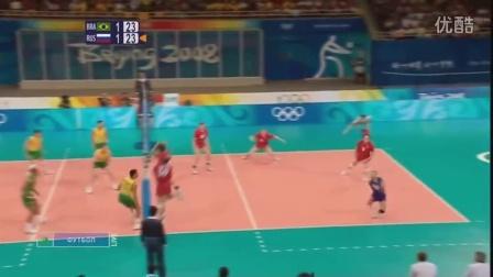2008北京奥运会男排比赛精彩得分