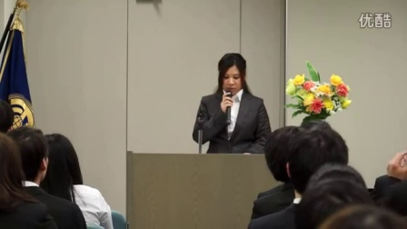 A graduation speech by a student  2016.3.11. 卒業生代表のことば