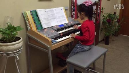 乐动音乐双排键学员卢思岐演奏《蓝猫淘气三千问》