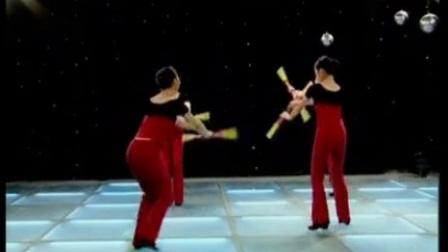 5新年来到汉族风格民族民间舞考级带讲解第六级邹城倩芳