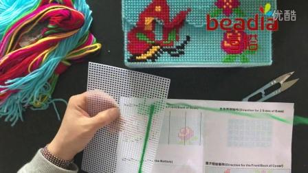 十字繡紙巾盒織法教程