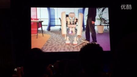 谷歌新双足机器人SCHAFT泄露超强平衡性 Google owned Schaft unveils new bipedal robot