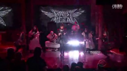 彻底震精了!日本重金属少女偶像乐队BABYMETAL首次现身美国电视节目!做客扣扣熊深夜秀震撼表演强势新单Gimme Chocolate!!轰动全场!