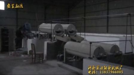 红薯淀粉生产机械 安装拍摄