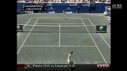 2008博士伦公开赛 决赛 莎拉波娃vs齐布尔科娃 HL
