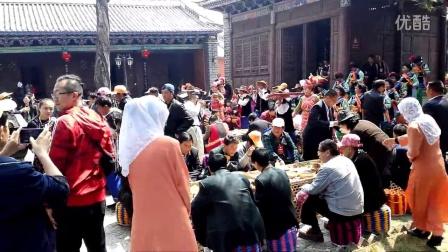 云南省大理州巍山县彝族祭祖节及小吃节 素宴