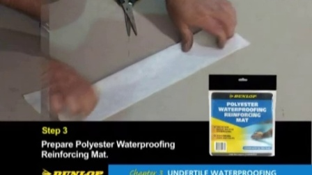 Dunlop DIY How-To Tile DVD - Part 3_ Undertile Waterproofing - YouTube [360p]
