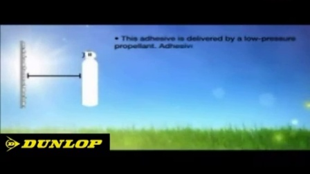 Dunlop Tile-It Spray Adhesive - YouTube [360p]