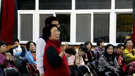 吴灵芬教授现场指导《行路难》李白诗四