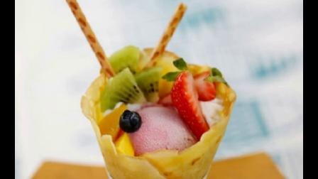 100种意冰客冰淇淋雪糕大合集——蓝莓冰淇淋