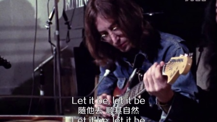 The Beatles-Let It Be自制中英字幕版