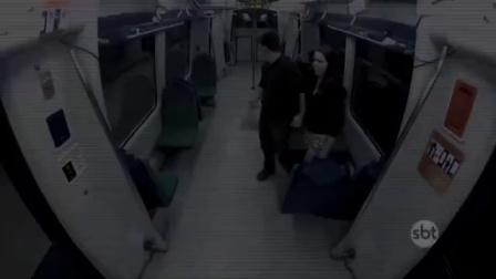 【地铁惊魂】巴西恐怖整人节目