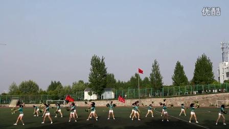 淮南联合大学化工系2016年健美操比赛