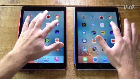 iPad Pro 9.7 对比 iPad Air 2 速度测试(The Tech Chap)中文配音