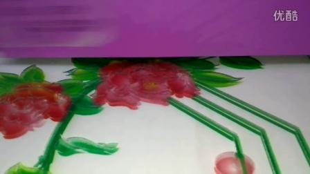 玻璃雕刻上色2