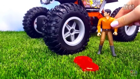 Cartoon with toy cars  POLICE CHASE  The story w