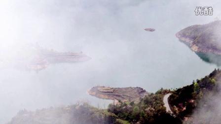丽水竟然有如此美景,千峡湖风光-青田北山。