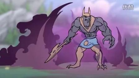 英雄联盟动画片 小兵什么时候也变得这么叼?