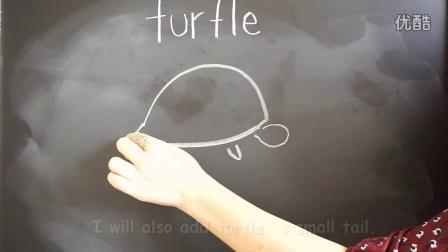 幼儿英语教学视频-幼儿园英语教学视频how to draw a turtle