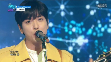 【Sxin隋鑫】[超清现场]160409 CNBLUE - Young Forever MBC 音乐中心