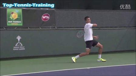 Borna Coric Forehands in Super Slow Motion 2015