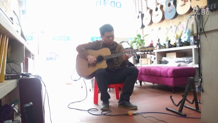 91:OD琴行【吉他三重奏之奋斗】OD单人三吉他合奏2016.4.17