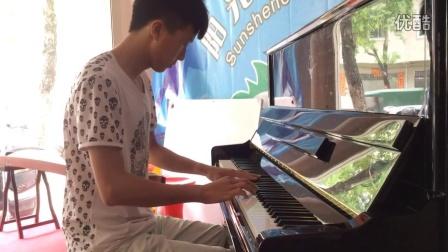 何经朗 夜的钢琴曲五 钢琴独奏 阳西县阳光艺术培训中心