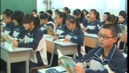 《黄果树瀑布》课堂实录1山西运城二中卢丽娟八年级上册初中语文研讨课教学视频