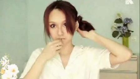 韩国墨镜女人头 韩国男短发剪发型图片