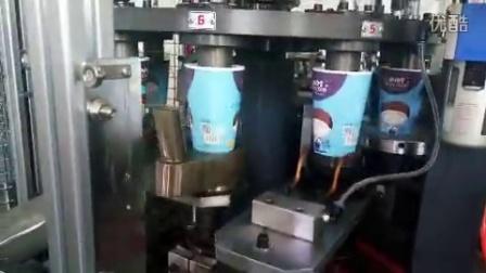 纸杯机 一次性纸杯机 海宁诚达纸杯机械 顺达纸杯机 16盎司客户生产视频 The vedio from our client