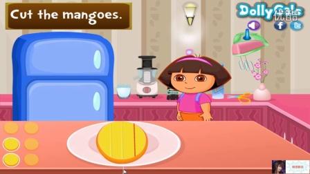朵拉的芒果芝士蛋糕60 朵拉历险记 奇趣蛋 朵拉历险记动画片中文版