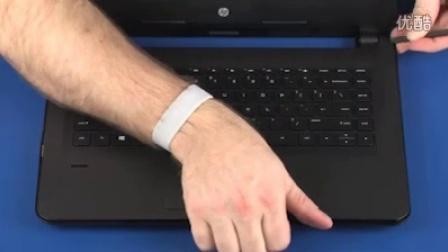 HP 348 G3和HP 340 G3笔记本拆机添加内存
