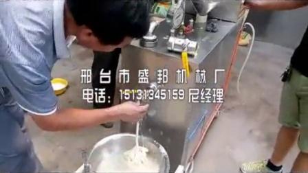福建漳州多功能米粉米线粉条粉丝年糕机,012南平盛邦牌商用大型玉米面条机