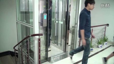 默纳克曳引400kg三层家用别墅电梯设计图纸