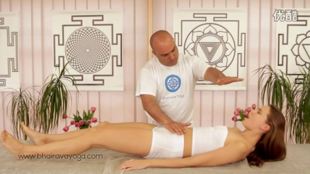 Full body energy orgasm with tantric massage